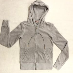 Juicy Couture Velour Hoodie Track jacket